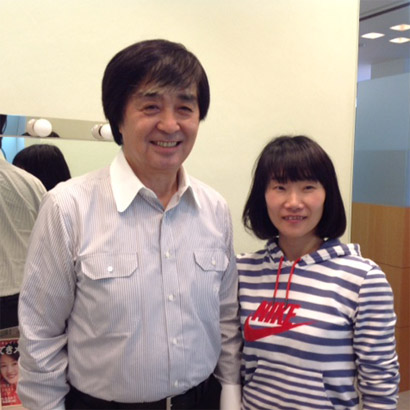 カオンは米澤式健顔公認トレーナーです。