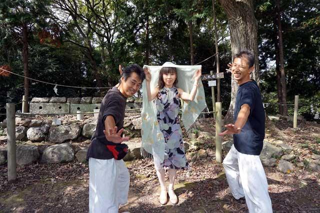 姫のような京子先生と、まるでお供?!な西嶋先生とヒーラーのあっきぃ