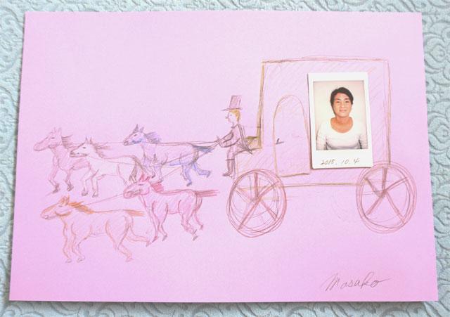一期生、雅子さんの馬車