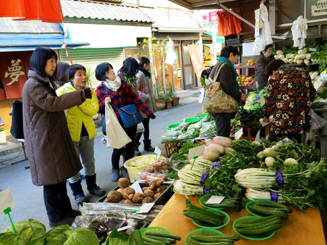 新鮮な野菜が手に入るって素敵!