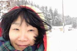 雪の中のシャバーサナはサイコー!